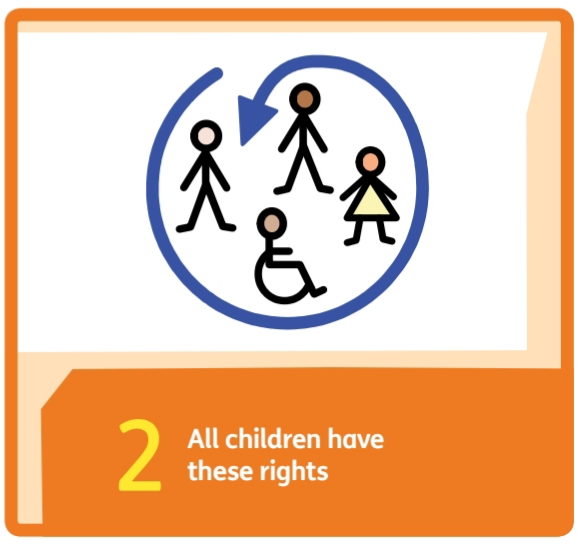 We know that the rights are for every child.