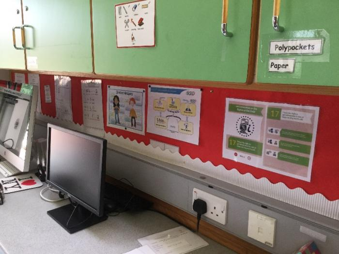 All pupils have the right to access information safely. We learn about using the internet safely in school.